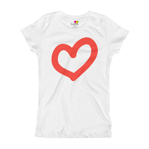 I Love You T-Shirt for Girls - biglove