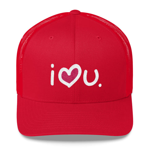 I Love You Cap Red - biglove