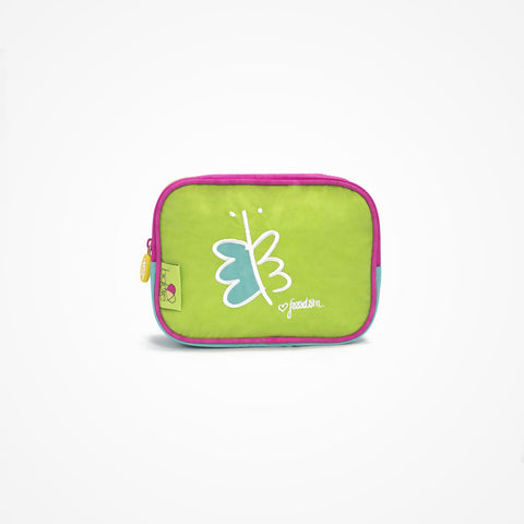 Small Square Accessory Bag | Green - biglove