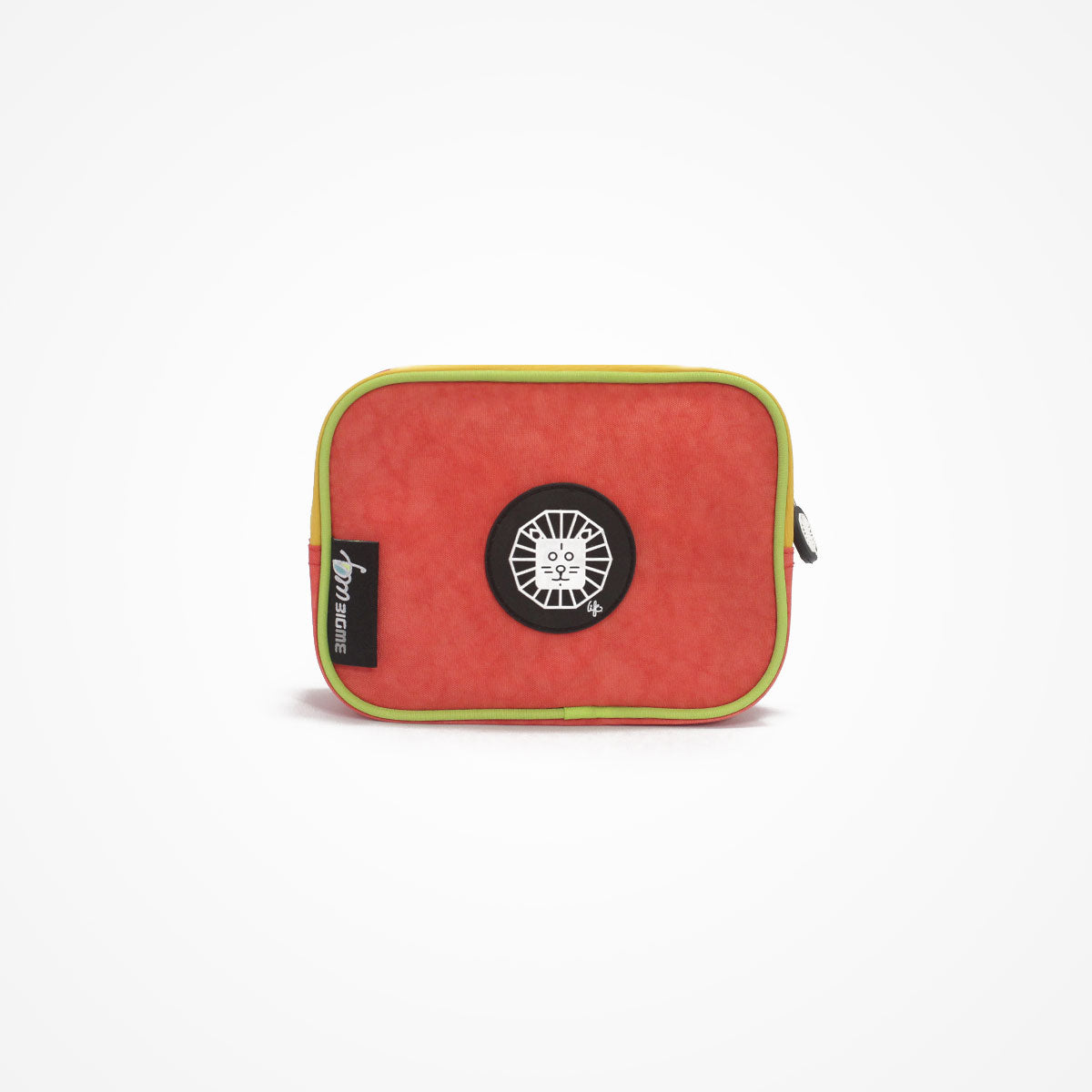 Small Square Accessory Bag | Orange | Lion - biglove