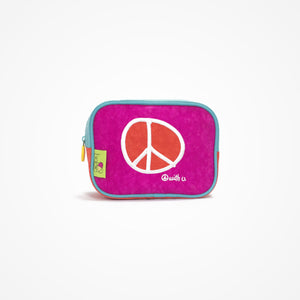 Small Square Accessory Bag | Pink - biglove