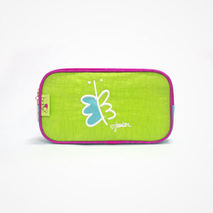 Small Rectangular Accessory Bag Freedom | Green - Biglove