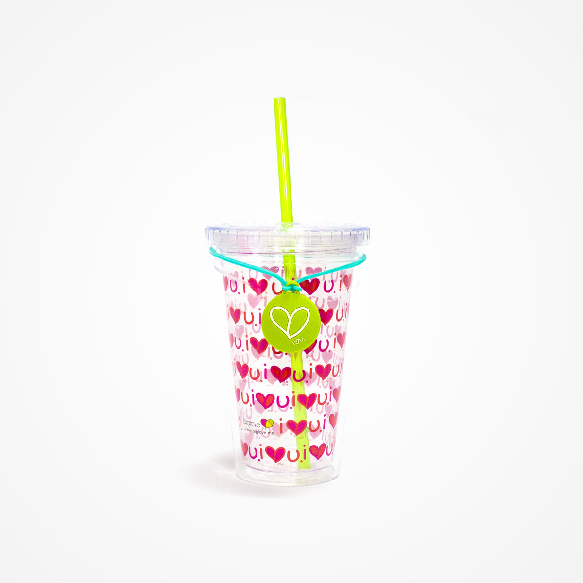 Printed Water Tumbler | Red - biglove