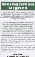 Weingarten Rights Cards (100)