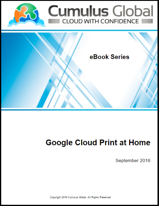 Printing from Chromebooks at Home