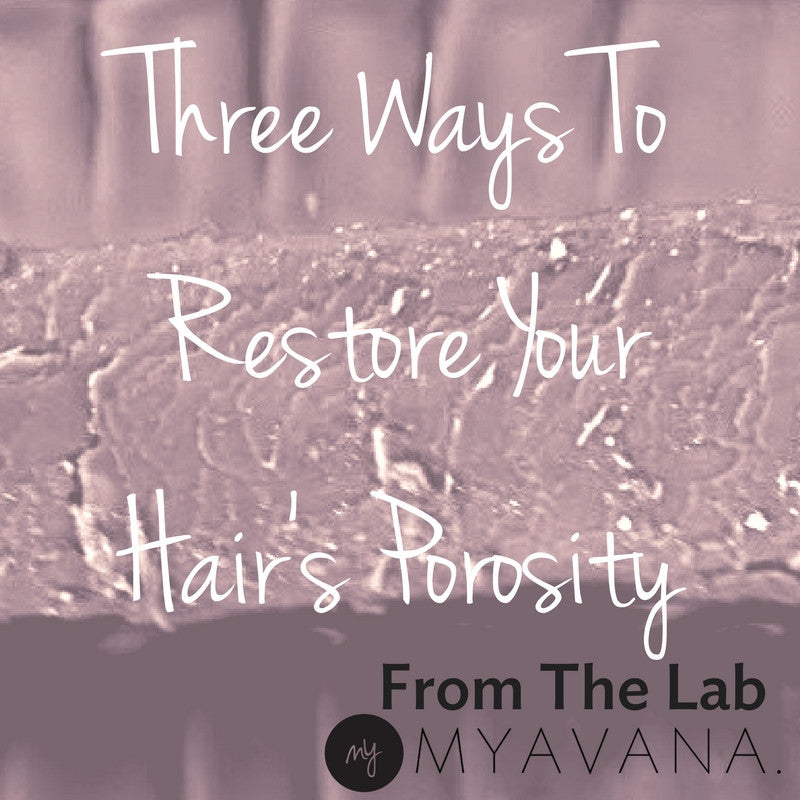 3 Tips To Restore Your Hair's Porosity