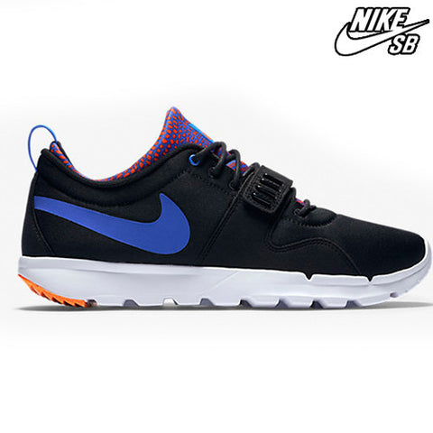 6758b64c1e0 Nike SB Trainerendor - Black Blue Orange 616575-046