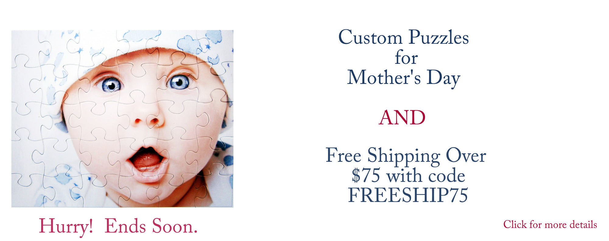 Custom Puzzle Gift For Mother's Day - The Missing Piece Puzzle Company  Free Shipping over $75 coupon code freeship75