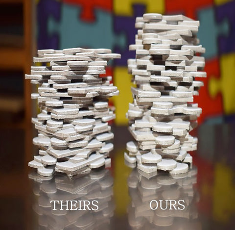 Comparison of puzzle thickness from The Missing Piece Puzzle Company