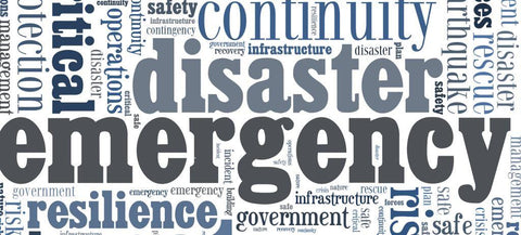 emergency disaster words - The Missing Piece Puzzle Company