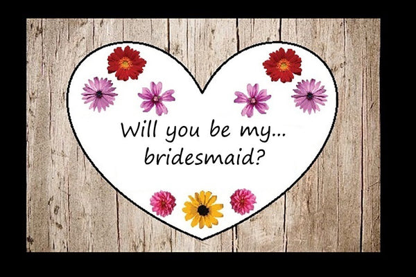 Will you be my bridesmaid puzzle
