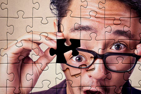 jigsaw puzzle is like solving problems - The Missing Piece Puzzle Company