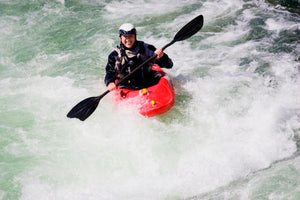 thrill seaker white water kayaker jigsaw puzzle - The Missing Piece Puzzle Company