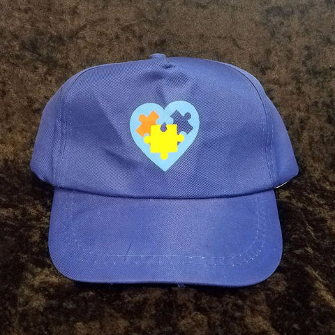 Autism Awareness Hat Blue Ball Cap