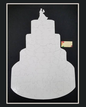 wedding cake shaped puzzle - The Missing Piece Puzzle Company