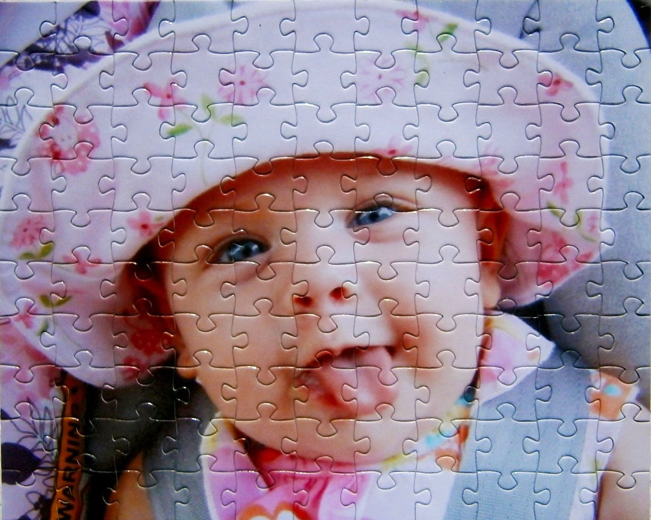Custom Puzzle - Cheap Custom Puzzle Gift With 30 Pieces!  8 X 10 In Puzzle