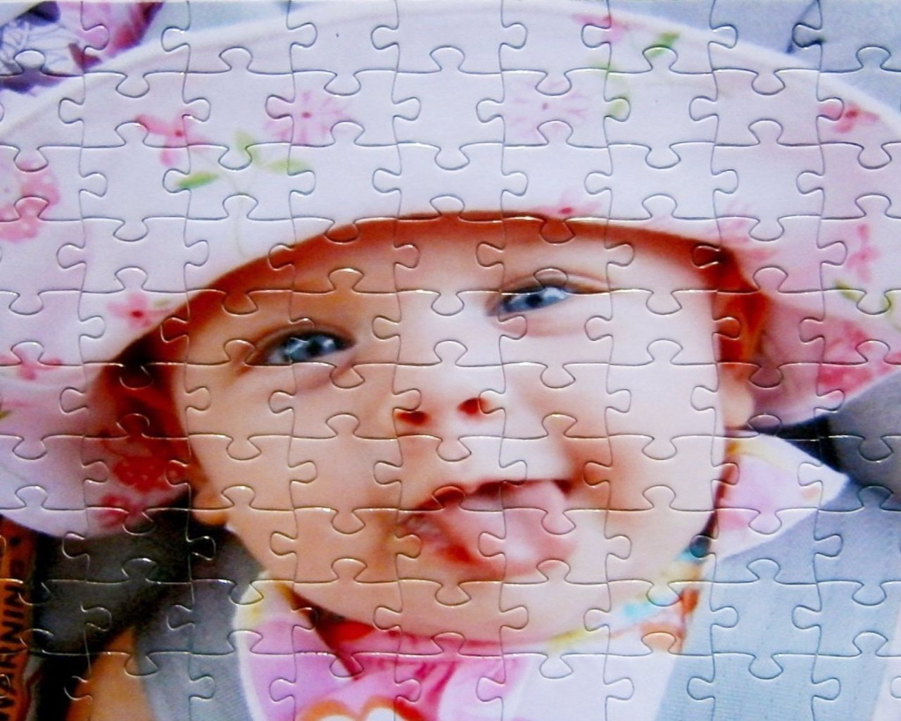 Custom Puzzle - Cheap Custom Puzzle Gift With 60 Pieces!  8 X 10 Inch Puzzle