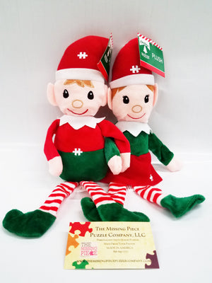 jigsaw puzzle elf couple
