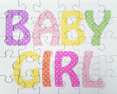 Gender Reveal Baby Girl Jigsaw Puzzle - The Missing Piece Puzzle Company
