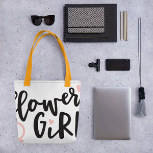 Wedding Tote bag - Flower Girl