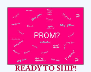 PROMPOSAL.  Prom Proposal Puzzle.  Ask Her Or Him To The Prom With A Puzzle. (p)