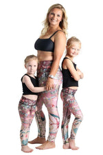 Kids Pretty in Pink Leggings
