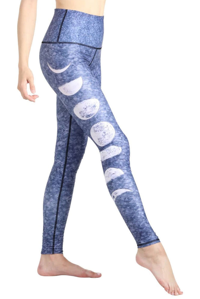Just a Phase Printed Yoga Legging