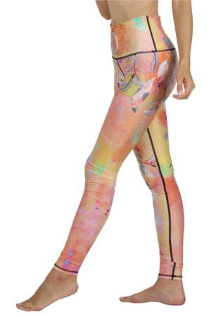 Yoga Democracy Leggings Papa Don't Peach Printed Yoga Legging - Final Sale