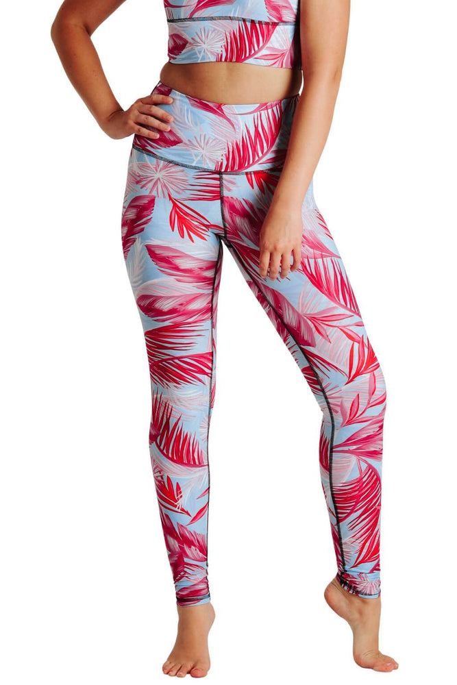 Hot Tropic Printed Yoga Leggings