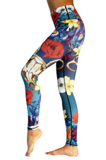 Yoga Democracy Leggings Georgia Printed Yoga Leggings