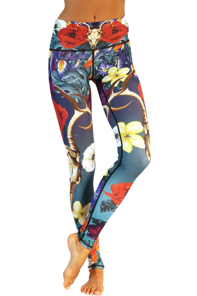 Georgia Printed Yoga Leggings