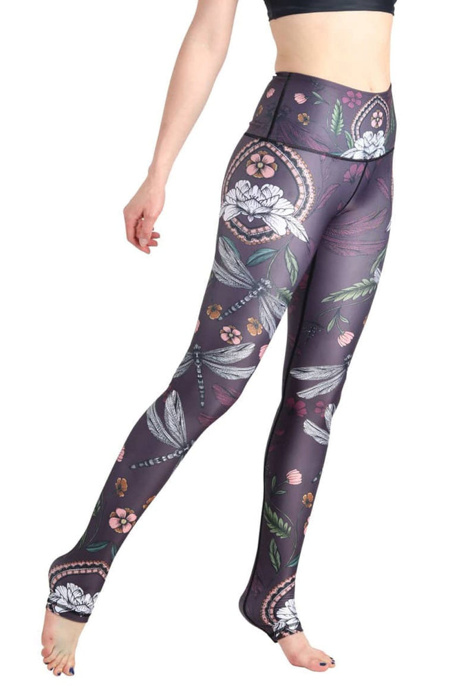 Fly by Night Printed Yoga Legging - Final Sale