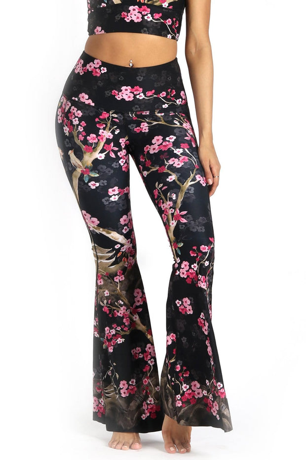 Cherry Bloomin Printed Bell Bottoms 1