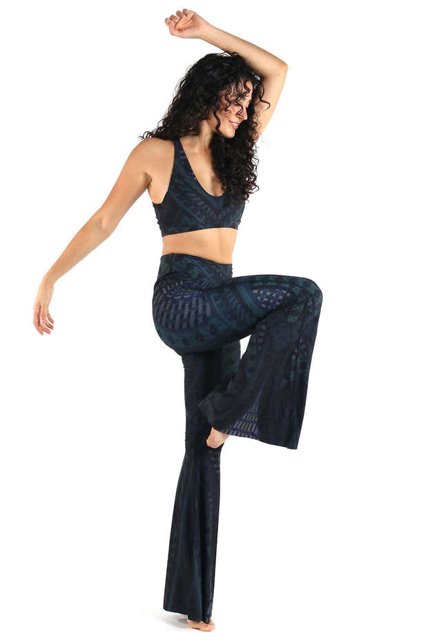 Warrior One Printed Bell Bottoms 1