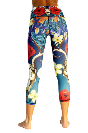 Yoga Democracy Leggings Georgia Printed Yoga Crops