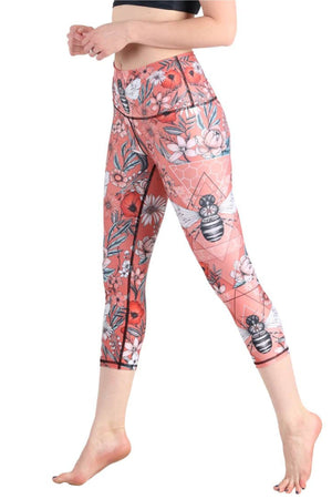 Yoga Democracy Leggings Buzz Because Printed Yoga Crops
