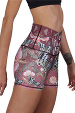 The Joey Yoga Short in Pretty in Pink