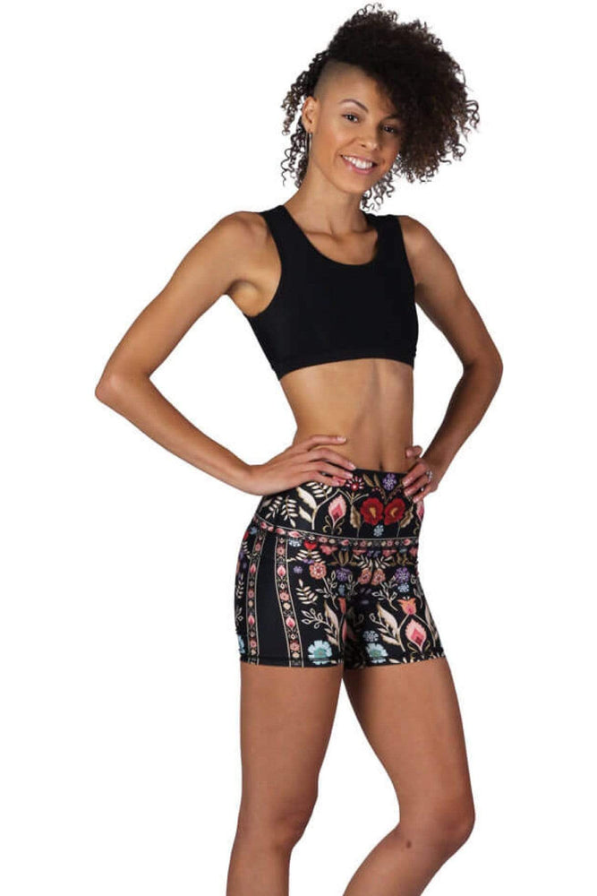 Yoga Democracy Shorts Joey Short in Rustica