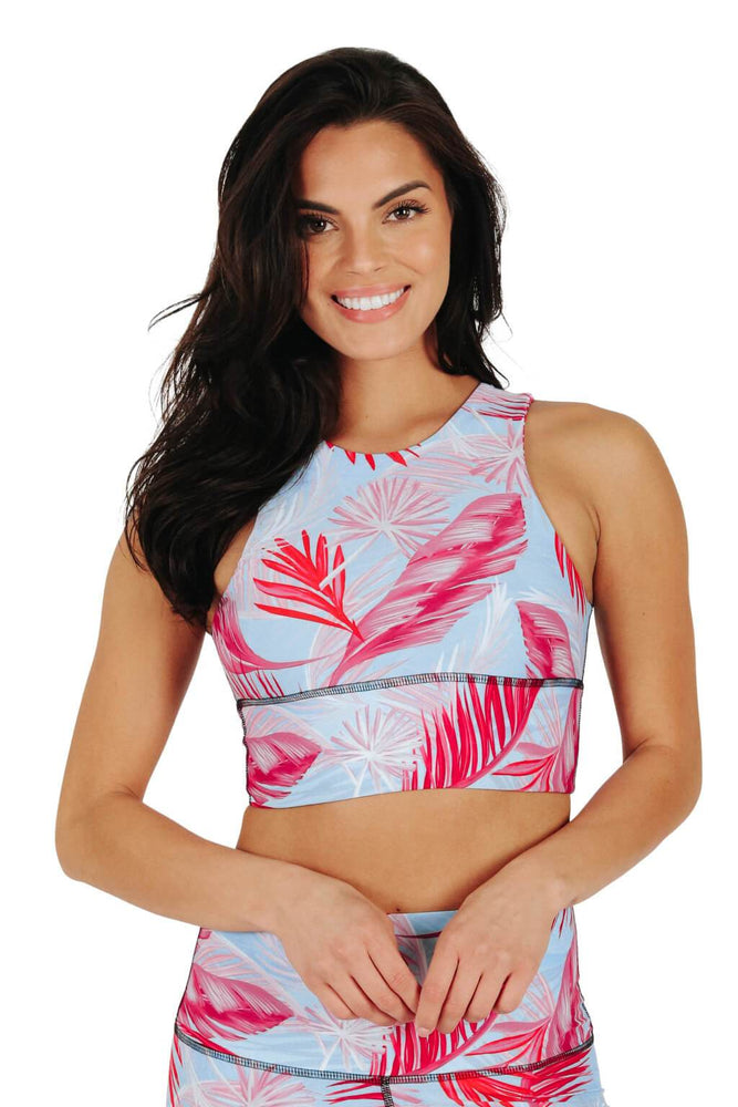Free Range Sports Bra in Hot Tropic