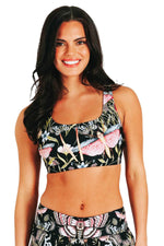 Everyday Sports Bra in Pretty In Black | Medium Support, A–E Cups