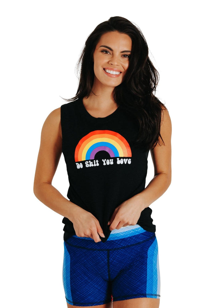 Do Shit You Love - Bamboo Organic Muscle Tee