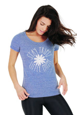 Stay Trippy Little Hippie - Eco Scoop Neck Tee