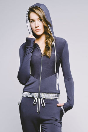 Yoga Democracy Women's Jackets Lightweight Zip-Up Hoodie - Available in 3 Colors