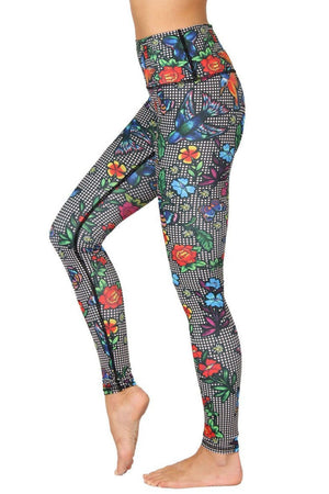 Yoga Democracy Leggings Cabaret Yoga Leggings - Vault