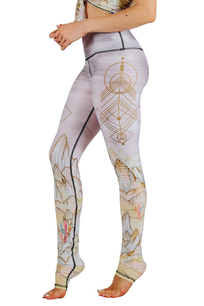 Monsoon Medley Printed Yoga Leggings