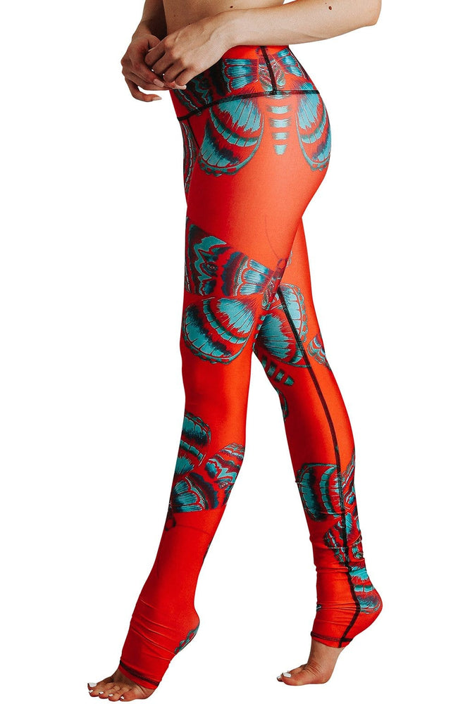 Bright Flight Printed Yoga Legging