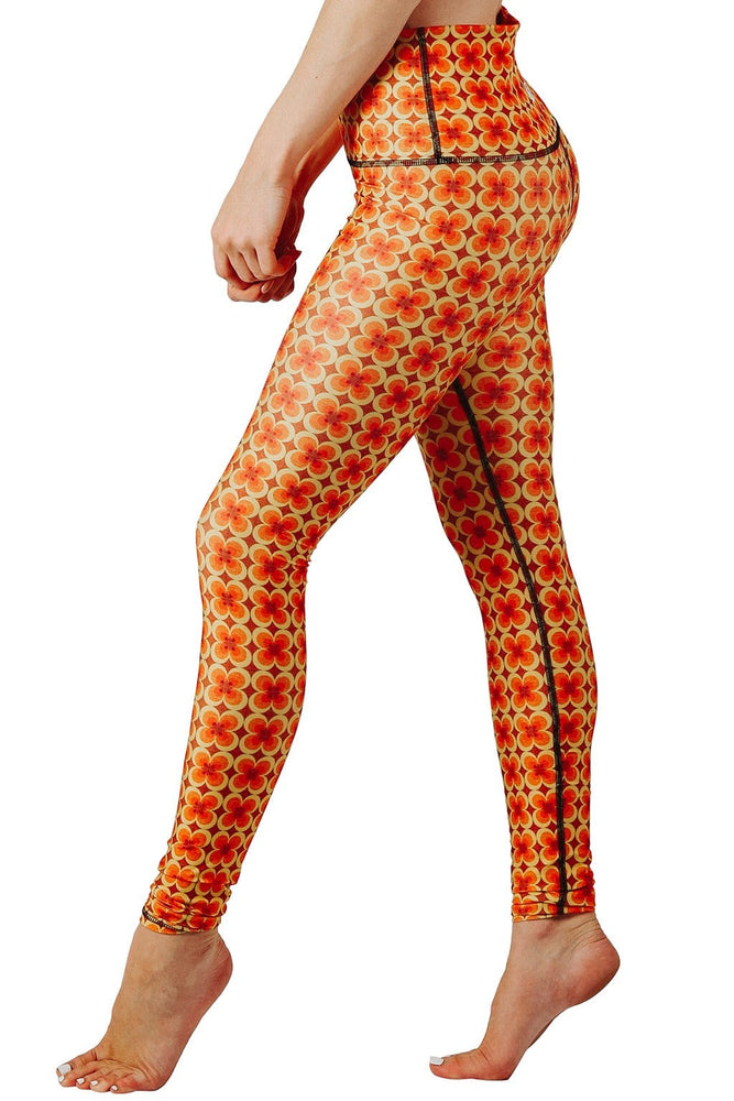 Groovy Girl Printed Yoga Leggings