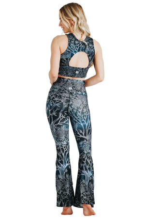 Yoga Democracy Sports Bra Free Range Sports Bra in Root To Rise