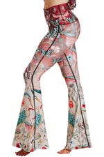 Pretty In Pink Printed Bell Bottoms