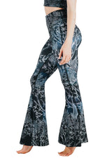 Root To Rise Printed Bell Bottoms